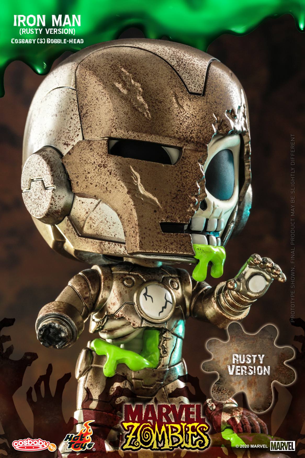 Hot Toys - MZ - Iron Man (Rusty Version) Cosbaby_PR2