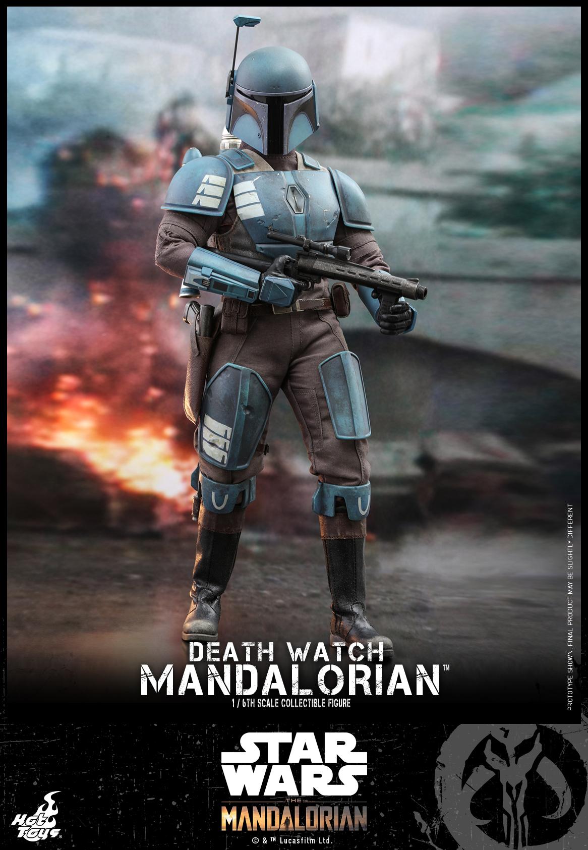 Hot Toys - Mandalorian - Death Watch Mandalorian collectible figure_PR1