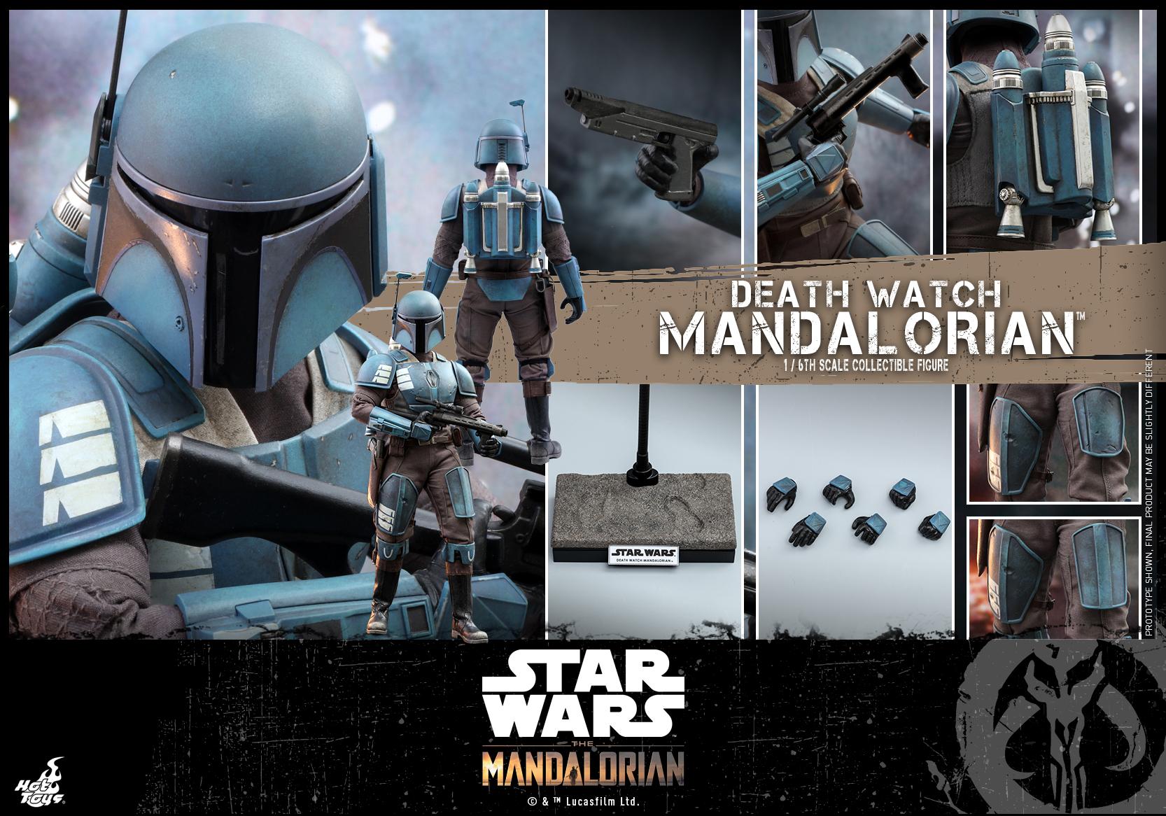Hot Toys - Mandalorian - Death Watch Mandalorian collectible figure_PR14