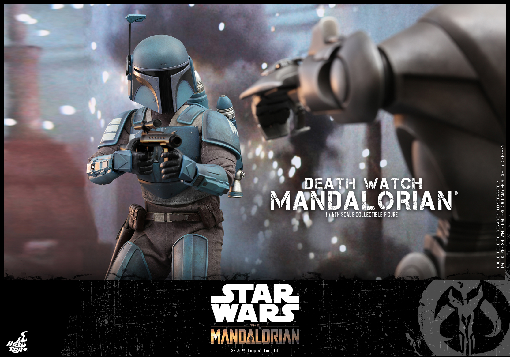 Hot Toys - Mandalorian - Death Watch Mandalorian collectible figure_PR9
