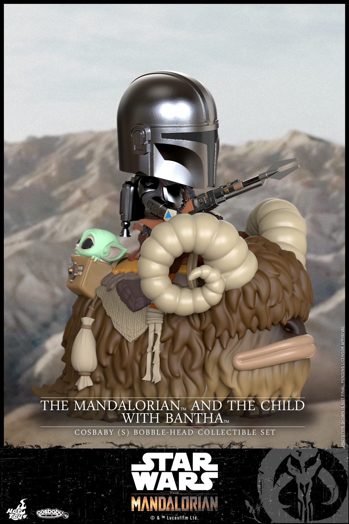 Hot Toys - Mandalorian II - Mandalorian and Child with Bantha Cosbaby_PR1