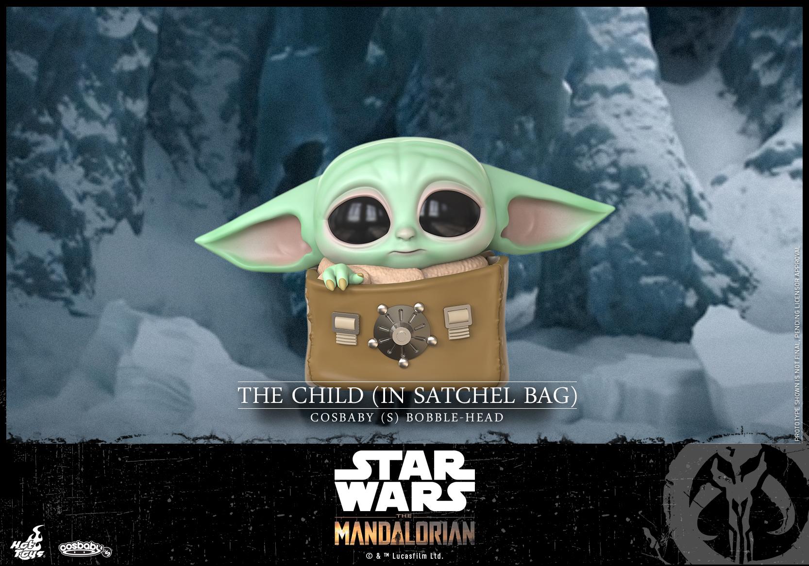 Hot Toys - Mandalorian II - The Child (In Satchel Bag) Cosbaby_PR1