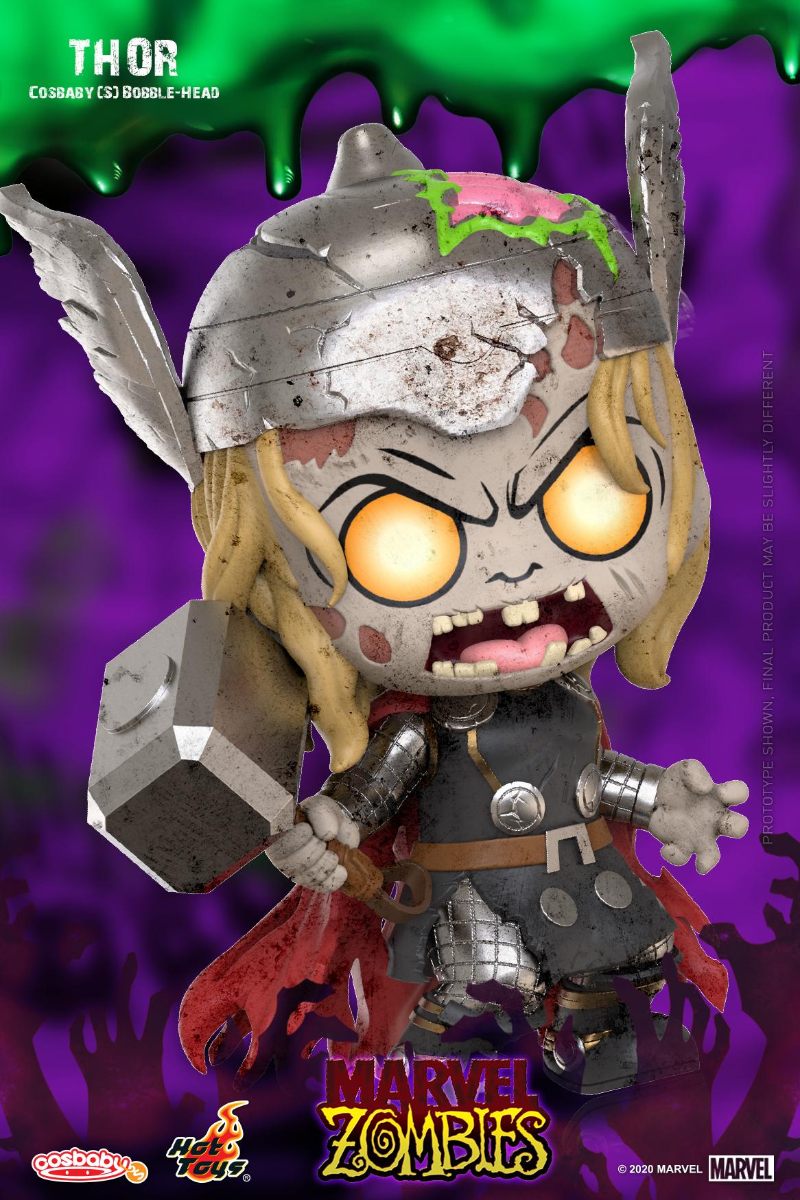 Hot Toys - Marvel Zombie - Thor Cosbaby (S)_PR2