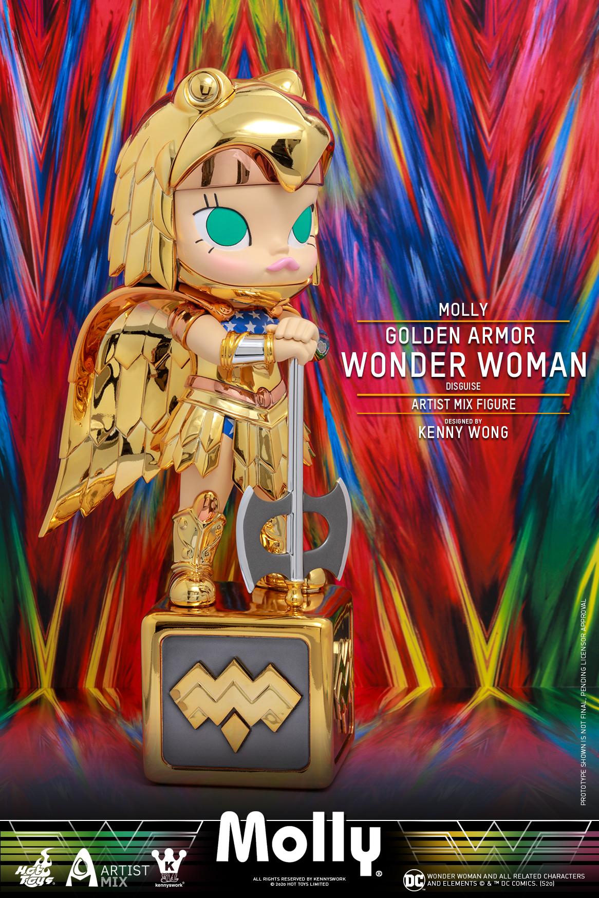 Hot Toys - Molly (Golden Armor Wonder Woman Disguise) Artist Mix Figure_PR3