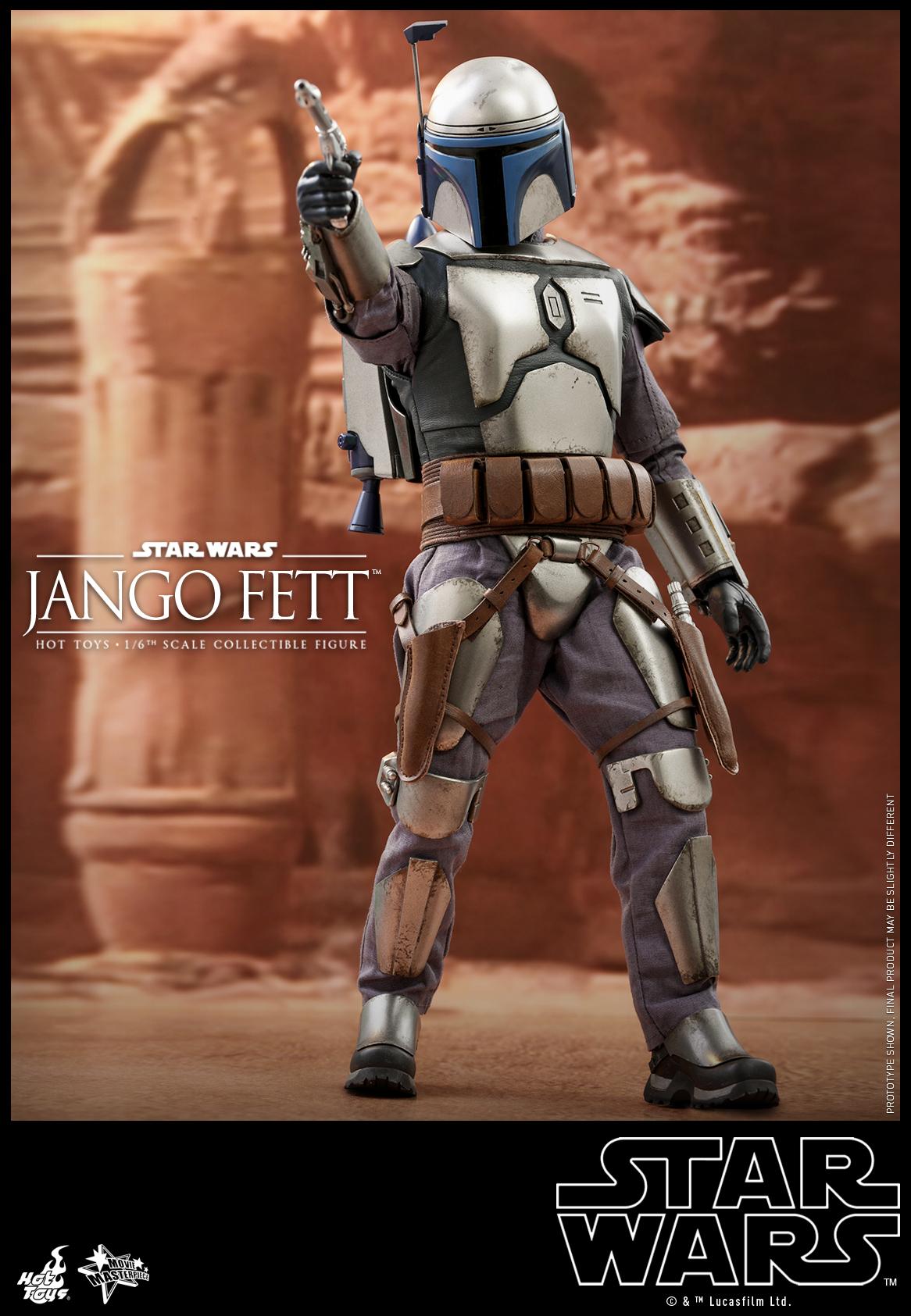 Hot Toys - SW - Jango Fett collectible figure_PR1