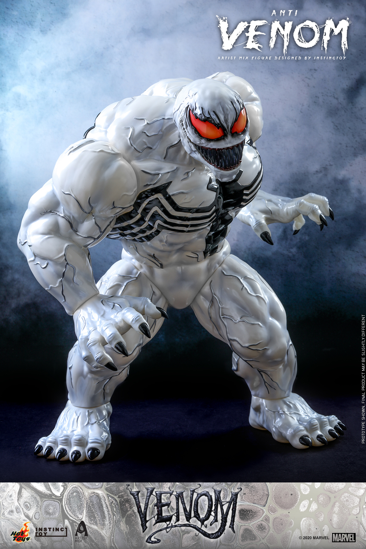 Hot Toys - Venom (Comic) - Anti Venom Artist Mix Designed by INSTINCTOY_PR1