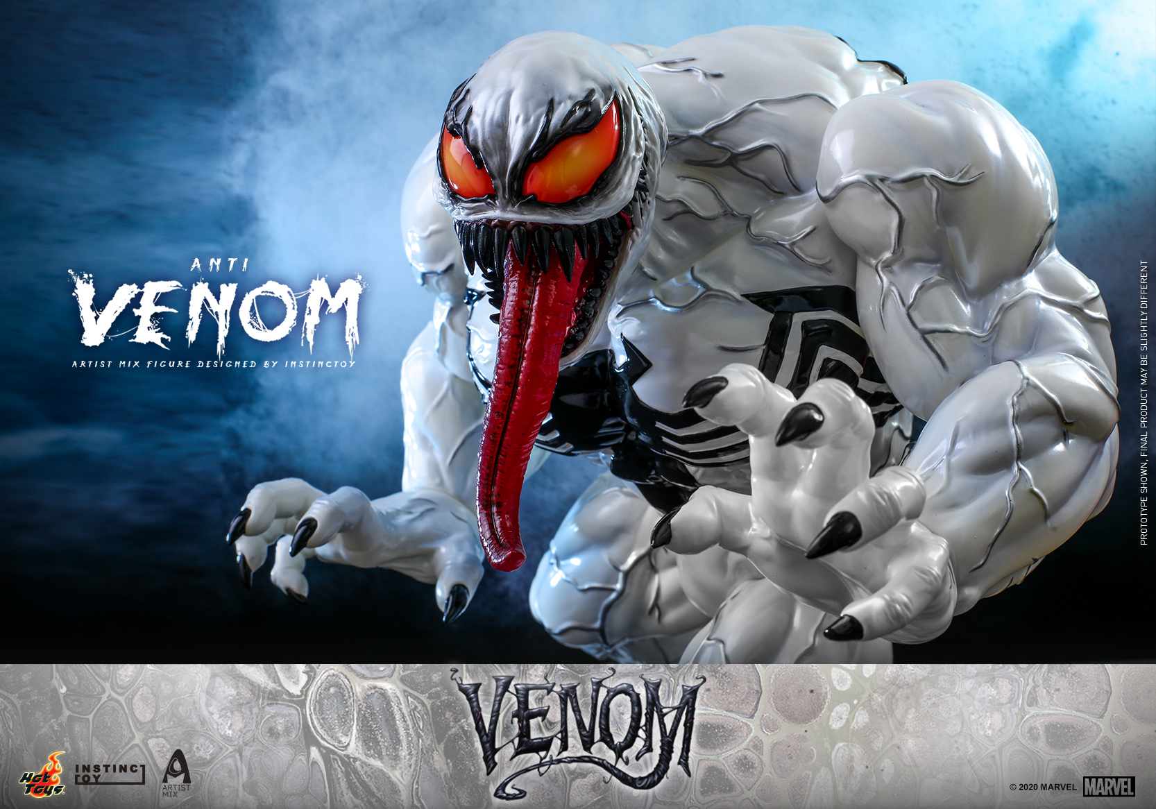 Hot Toys - Venom (Comic) - Anti Venom Artist Mix Designed by INSTINCTOY_PR10
