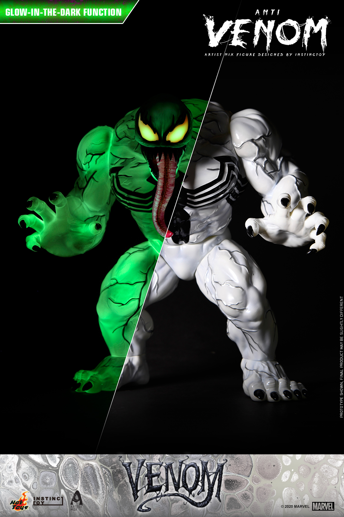 Hot Toys - Venom (Comic) - Anti Venom Artist Mix Designed by INSTINCTOY_PR2