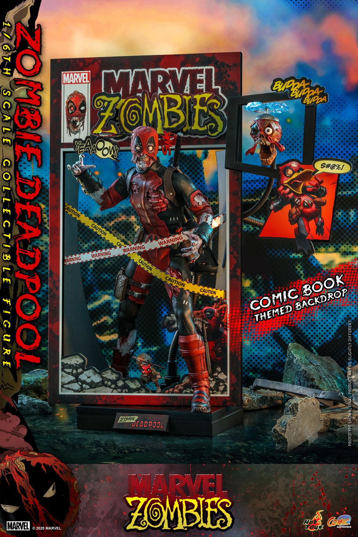 Hot Toys - Marvel Zombie - Zombie Deadpool collectible figure_PR1
