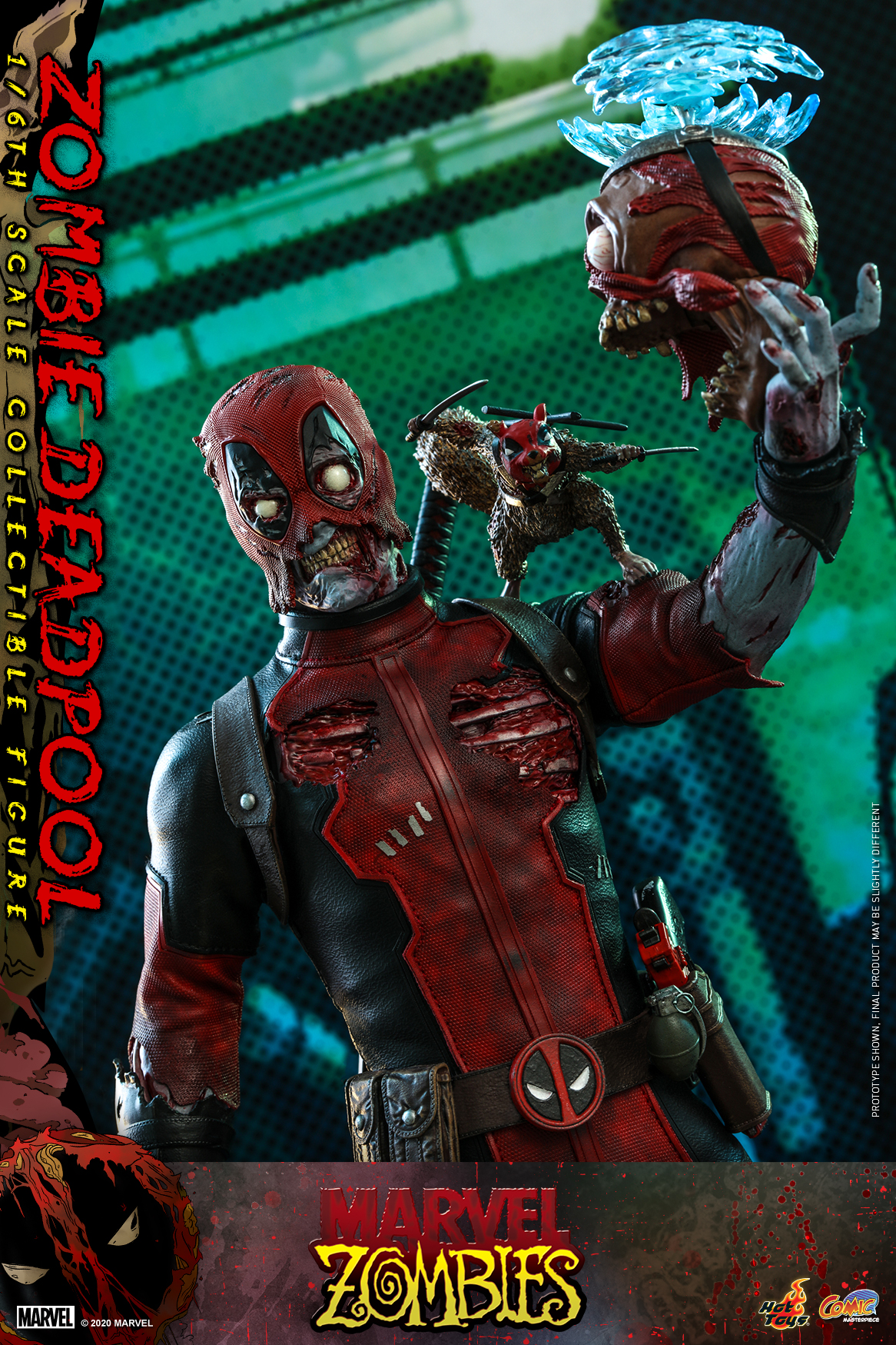 Hot Toys - Marvel Zombie - Zombie Deadpool collectible figure_PR13