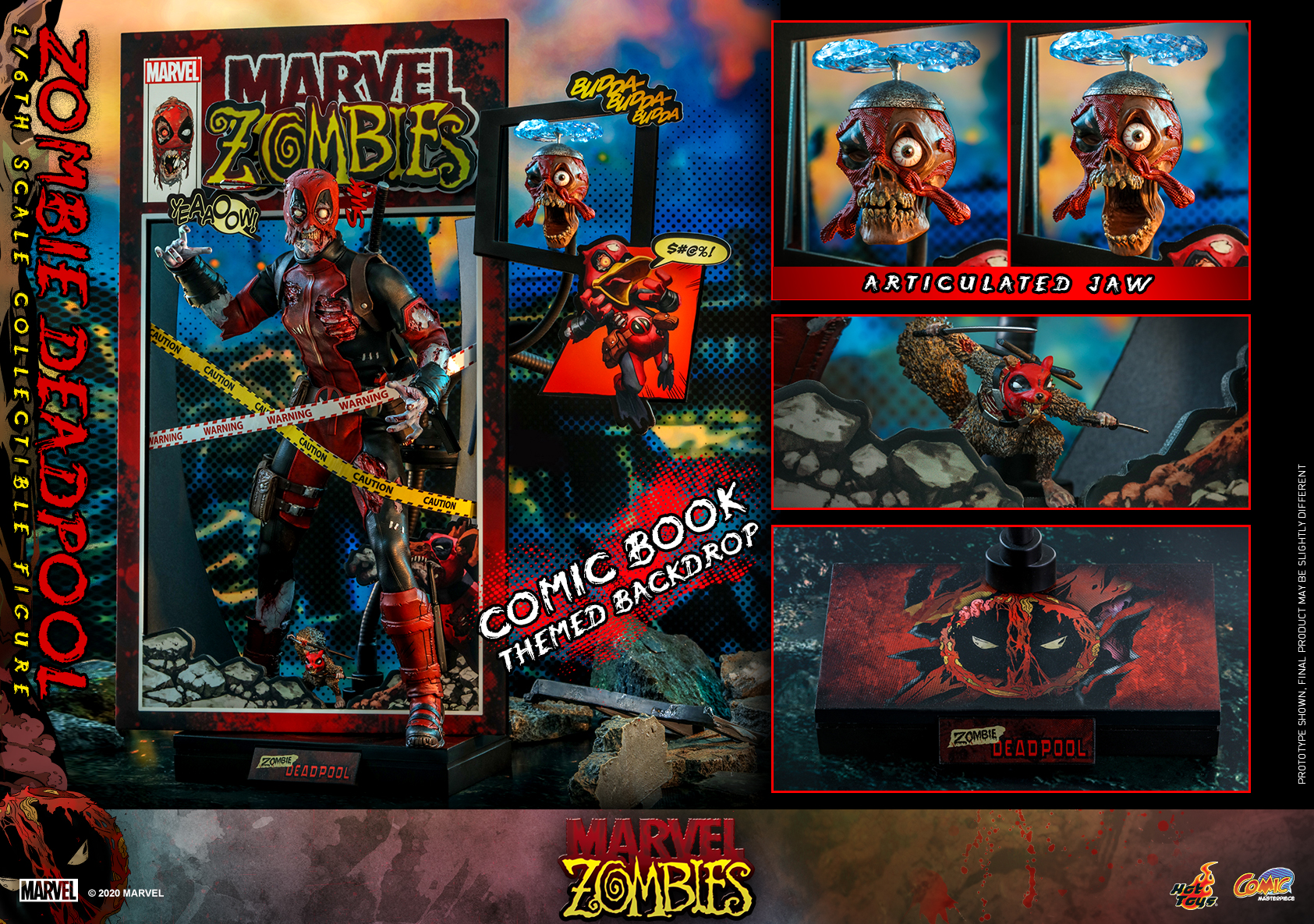 Hot Toys - Marvel Zombie - Zombie Deadpool collectible figure_PR26