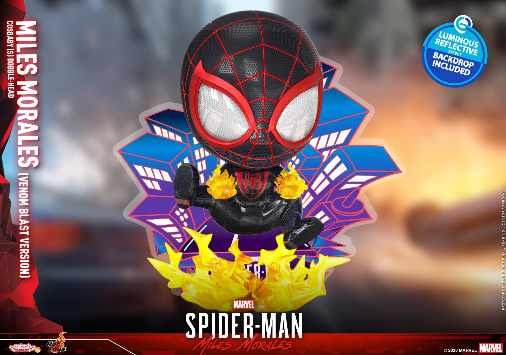 Hot Toys - SMMM - Miles Morales (Venom Blast) Cosbaby_PR1