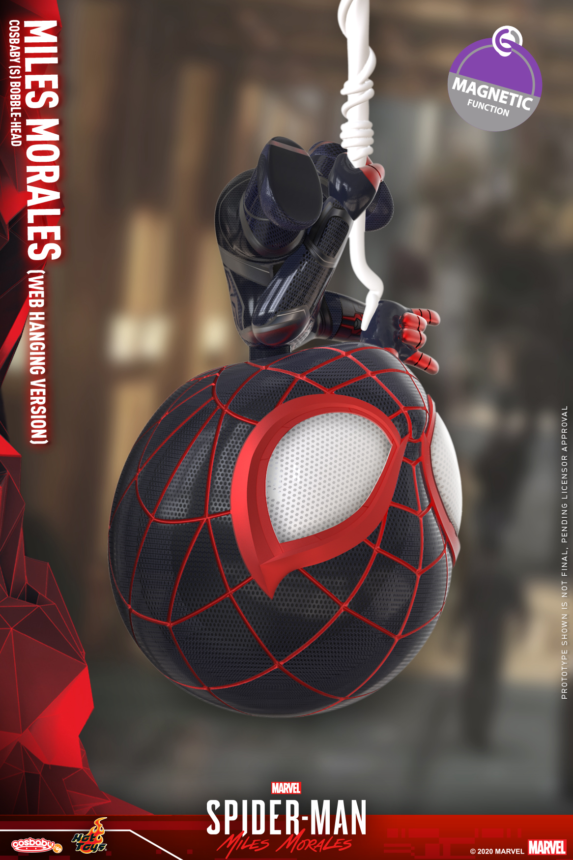 Hot Toys - SMMM - Miles Morales (Web Hanging) Cosbaby_PR2