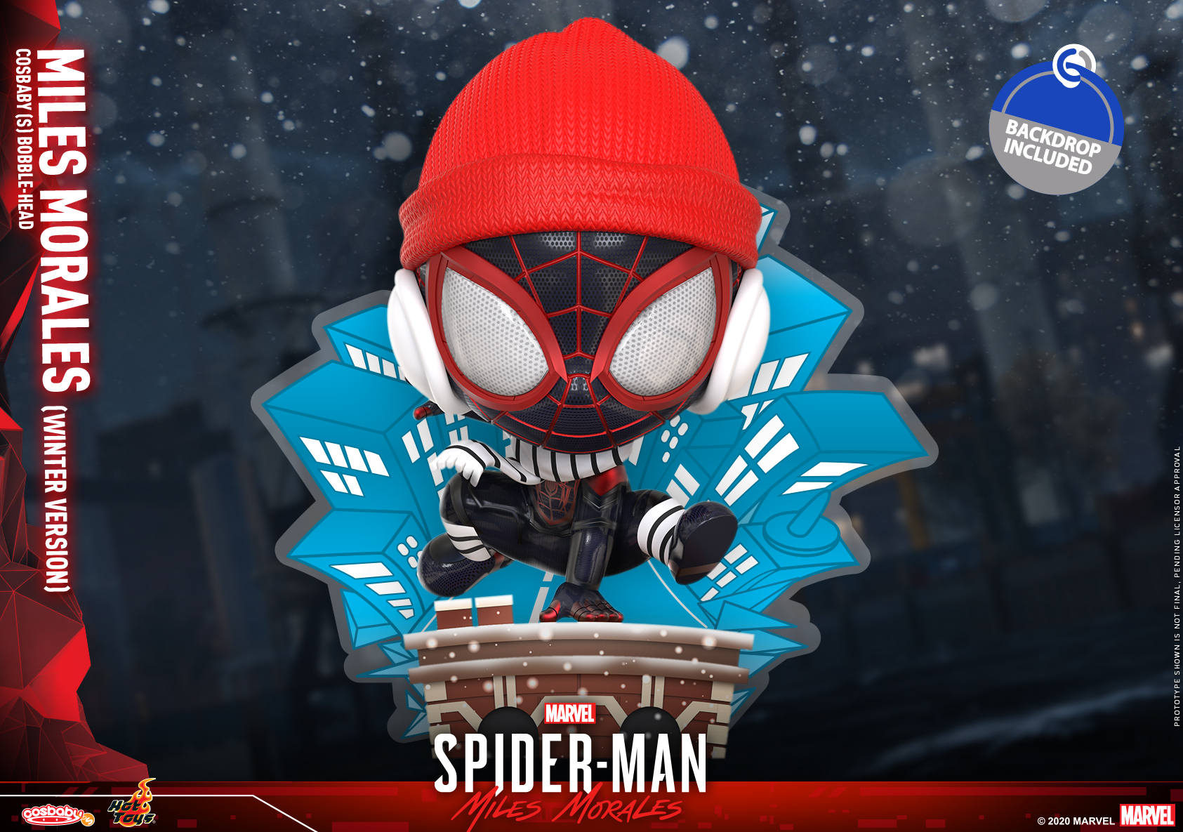 Hot Toys - SMMM - Miles Morales (Winter) Cosbaby_PR1