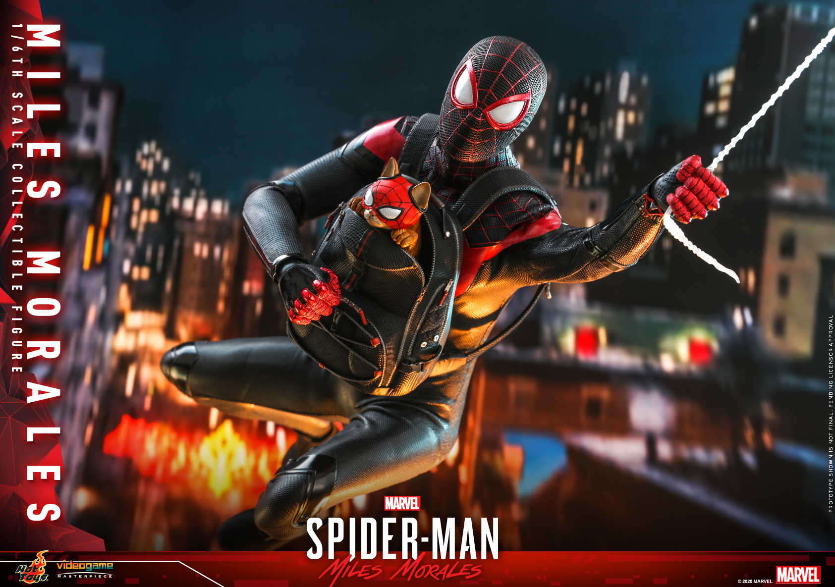 Hot Toys - SMMM - Miles Morales collectible figure_PR22