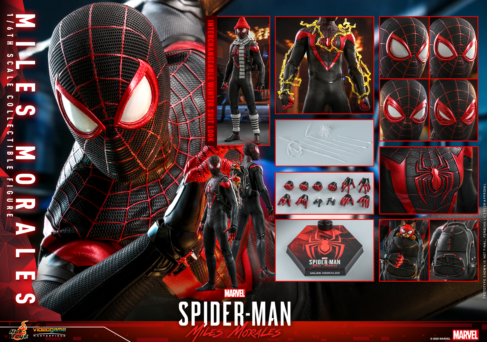 Hot Toys - SMMM - Miles Morales collectible figure_PR28