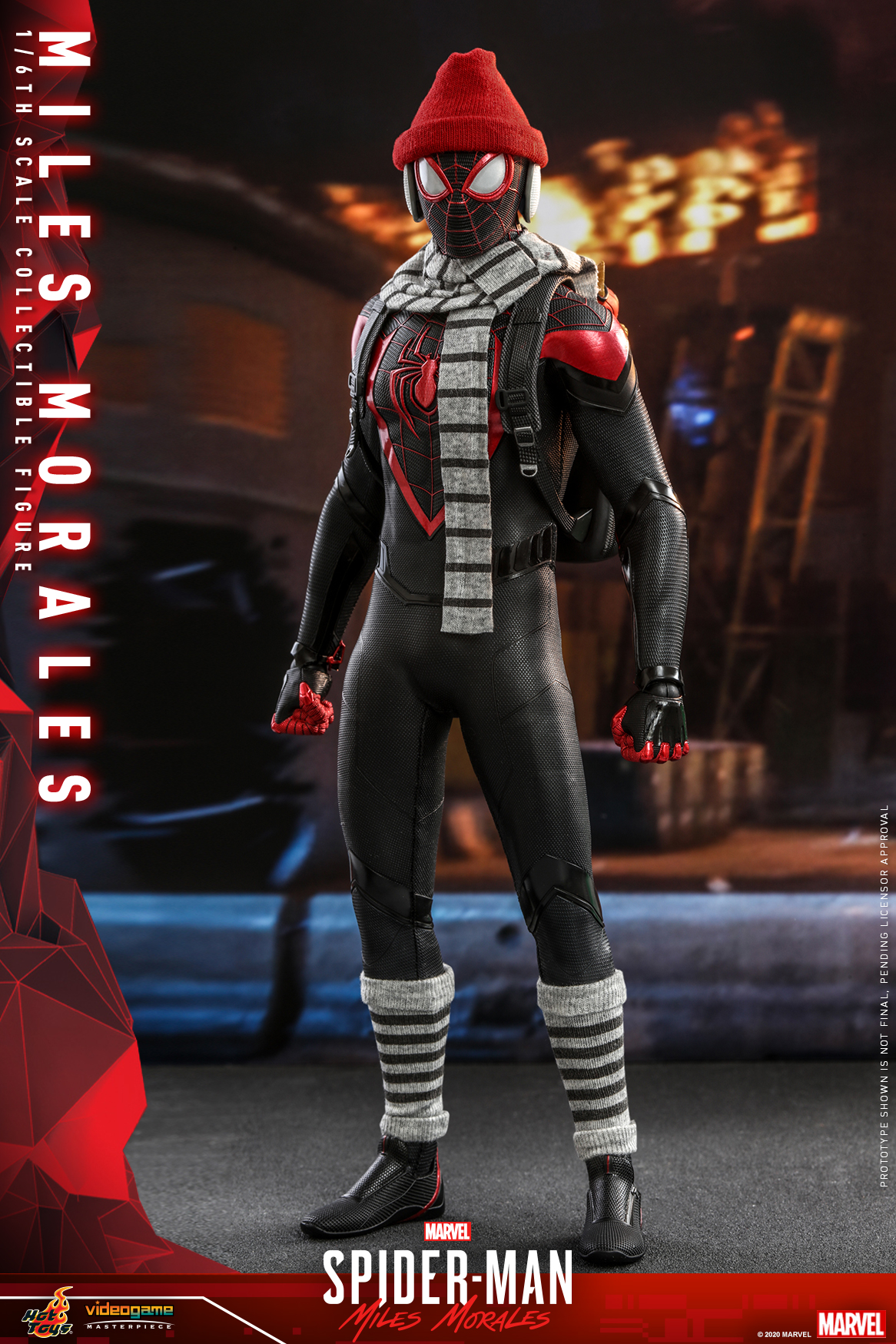 Hot Toys - SMMM - Miles Morales collectible figure_PR8