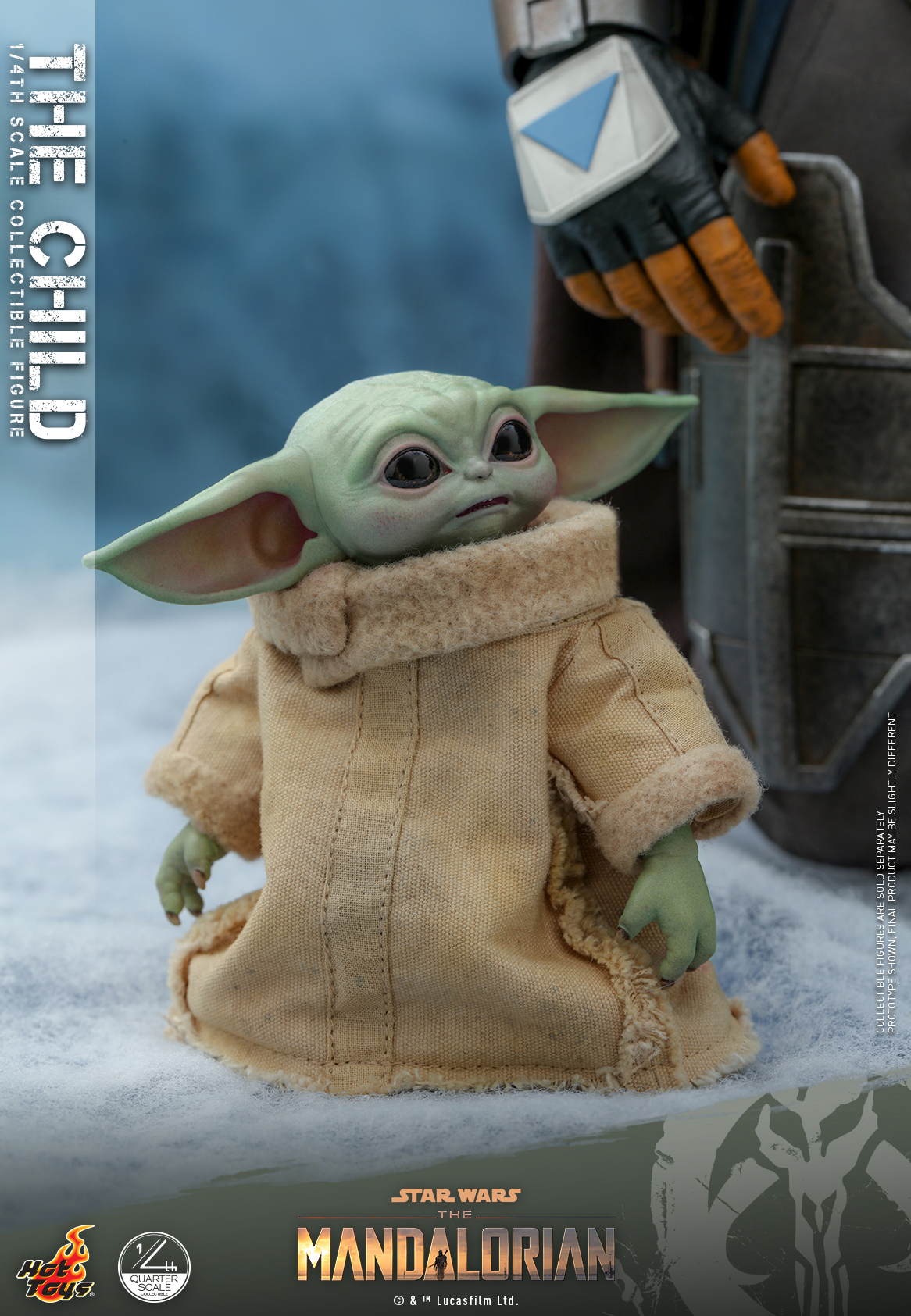 Hot Toys - SWTM - Quarter Scale The Child_PR10