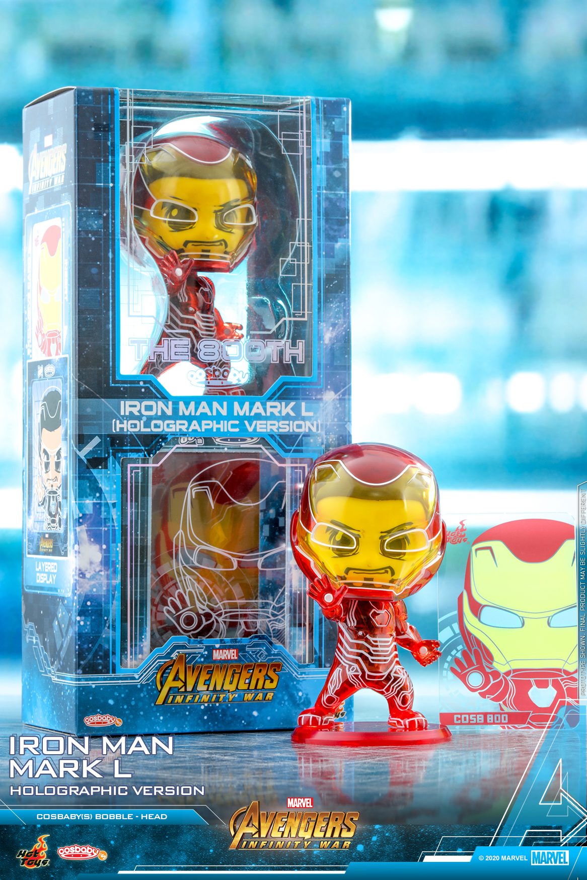 Hot Toys - AIW - Iron Man Mark L (Holographic) Cosbaby_PR1