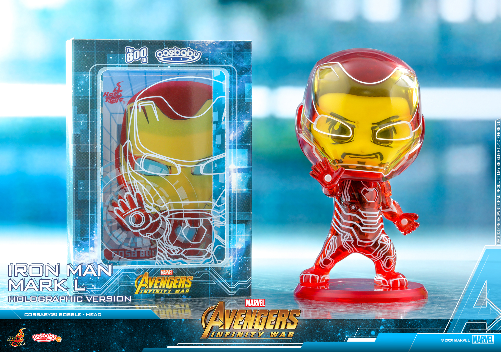 Hot Toys - AIW - Iron Man Mark L (Holographic) Cosbaby_PR2