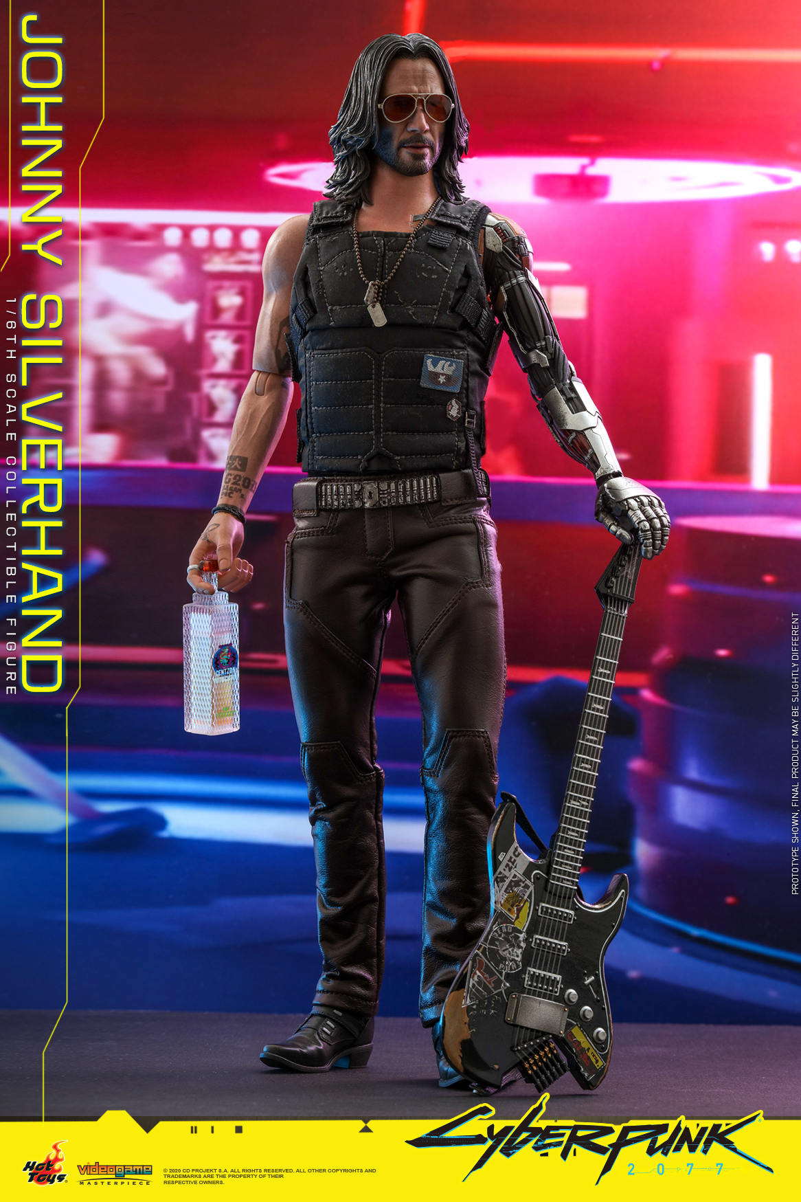Hot Toys - Cyberpunk 2077 - Johnny Silverhand collectible figure_PR1