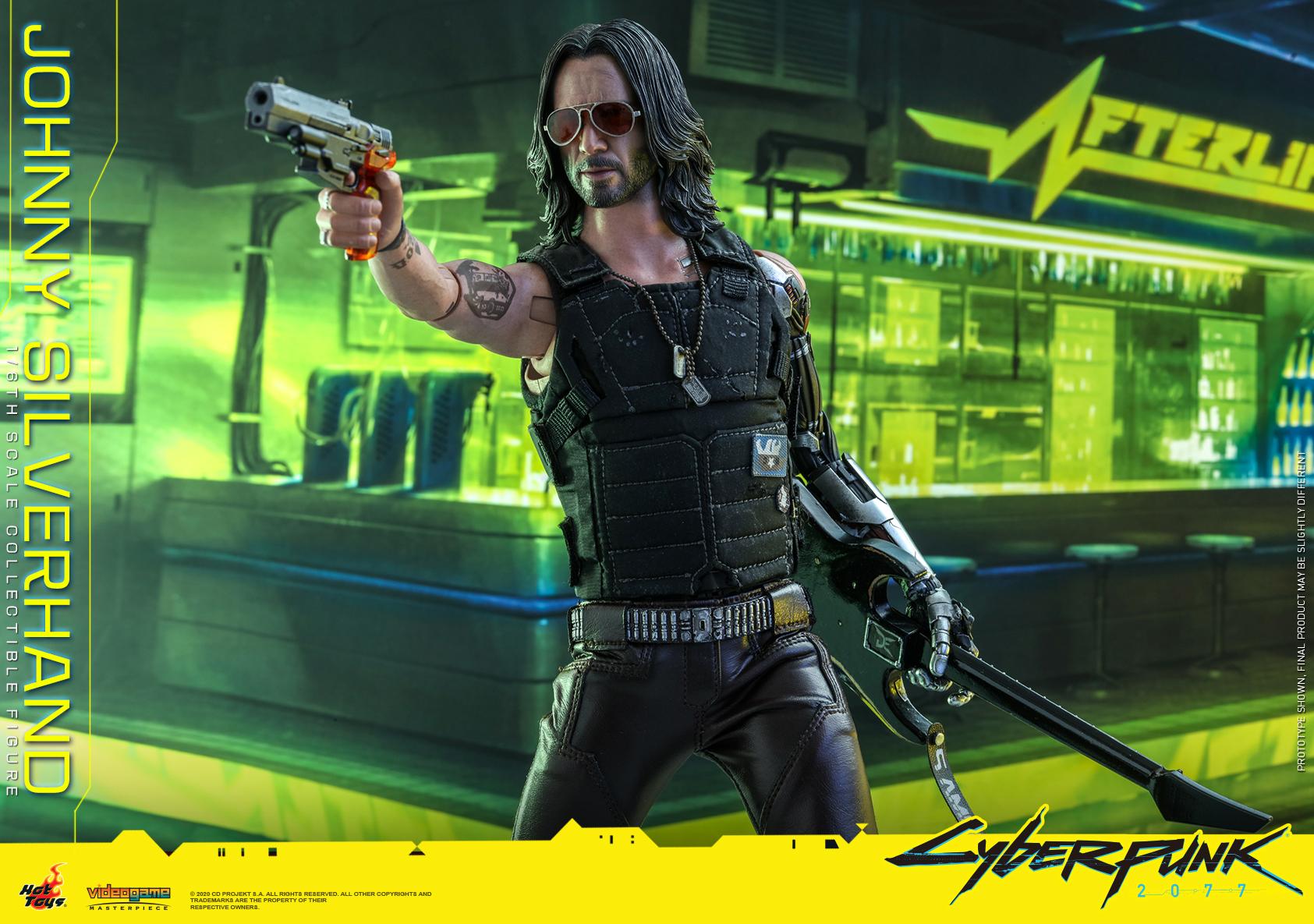 Hot Toys - Cyberpunk 2077 - Johnny Silverhand collectible figure_PR20