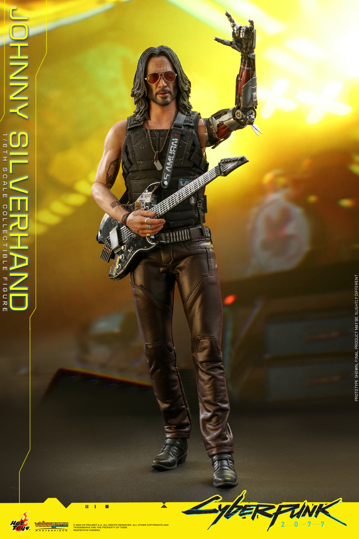 Hot Toys - Cyberpunk 2077 - Johnny Silverhand collectible figure_PR4