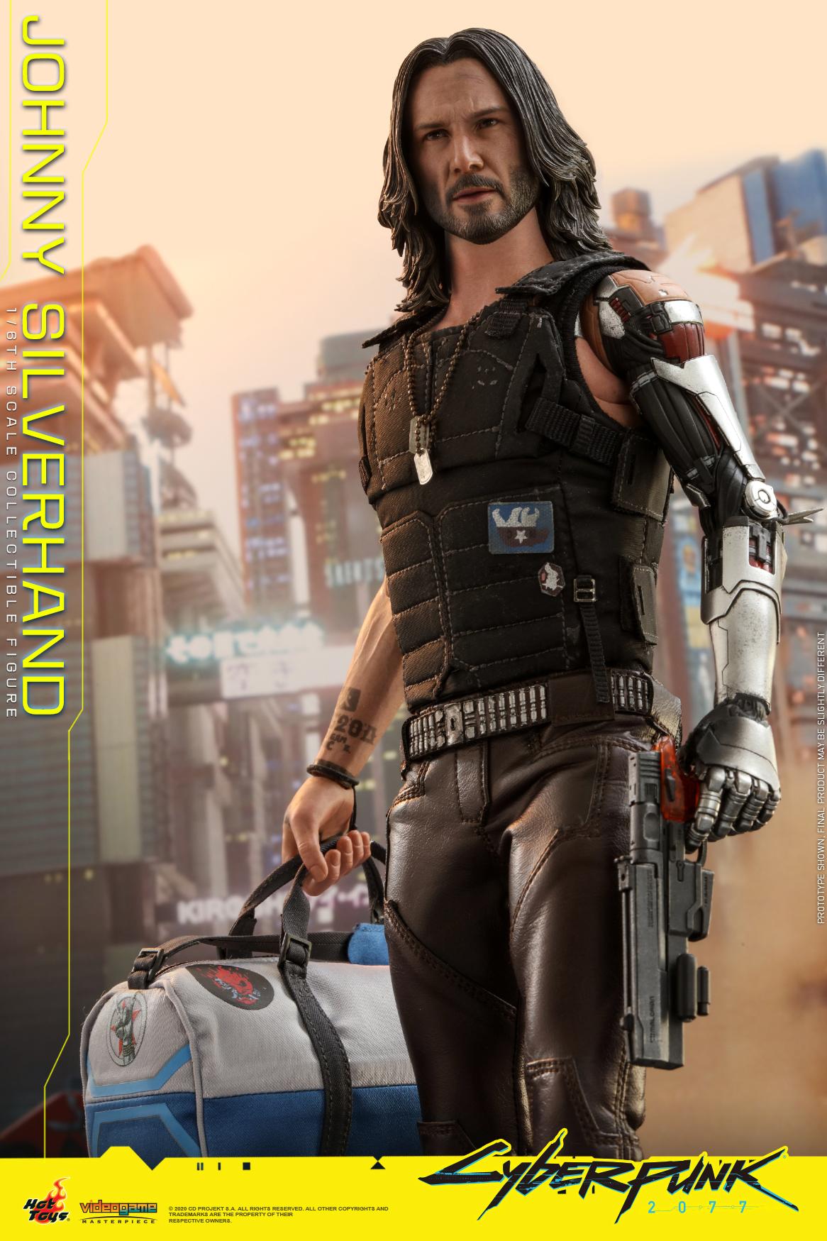 Hot Toys - Cyberpunk 2077 - Johnny Silverhand collectible figure_PR8