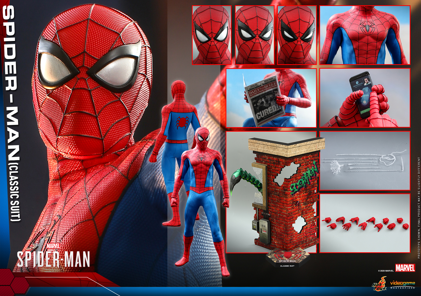 Hot Toys - MSM - Spider-Man (Classic Suit) collectible figure_PR21