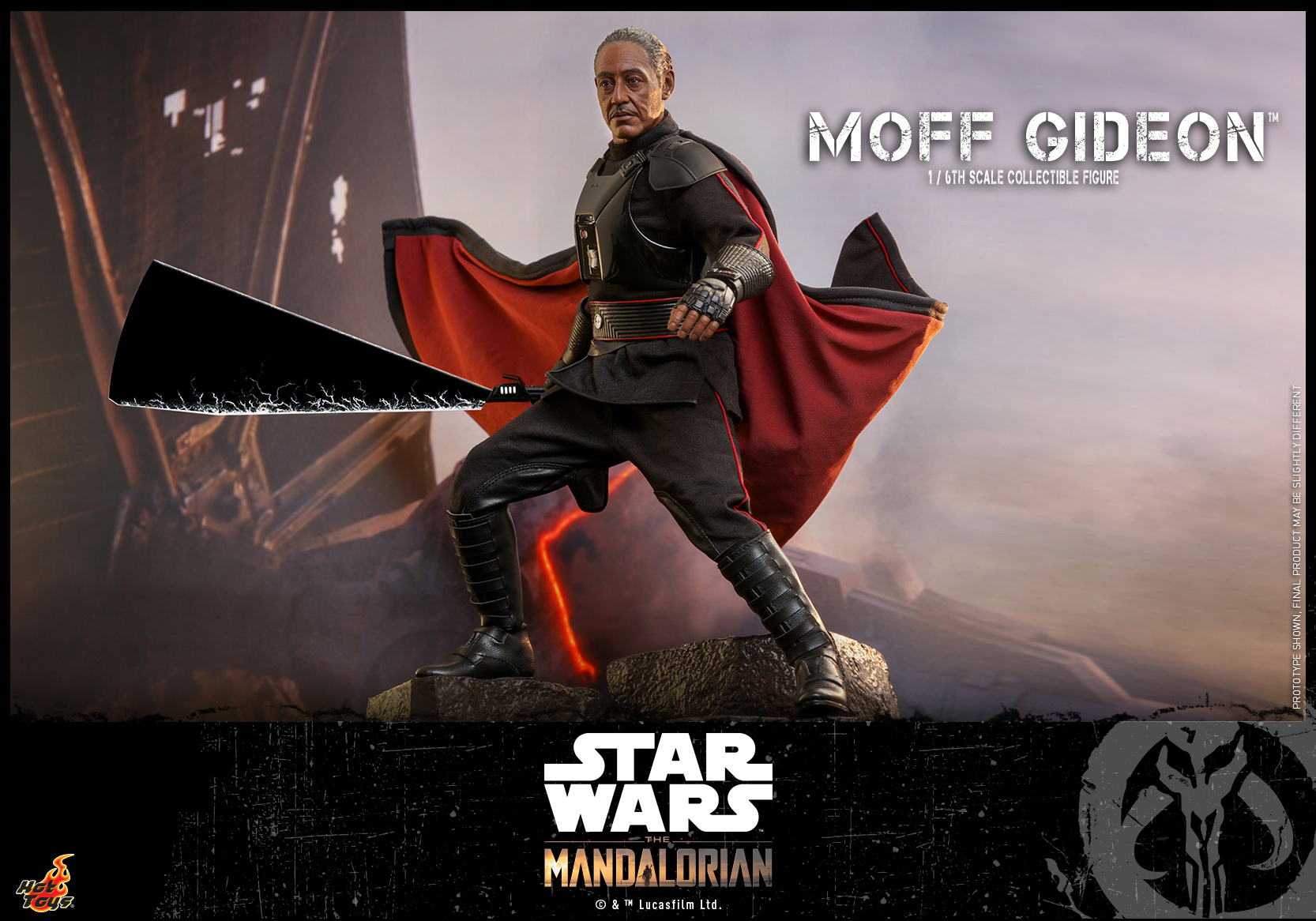 Hot Toys - Mando II - Moff Gideon Collectible Figure_PR10