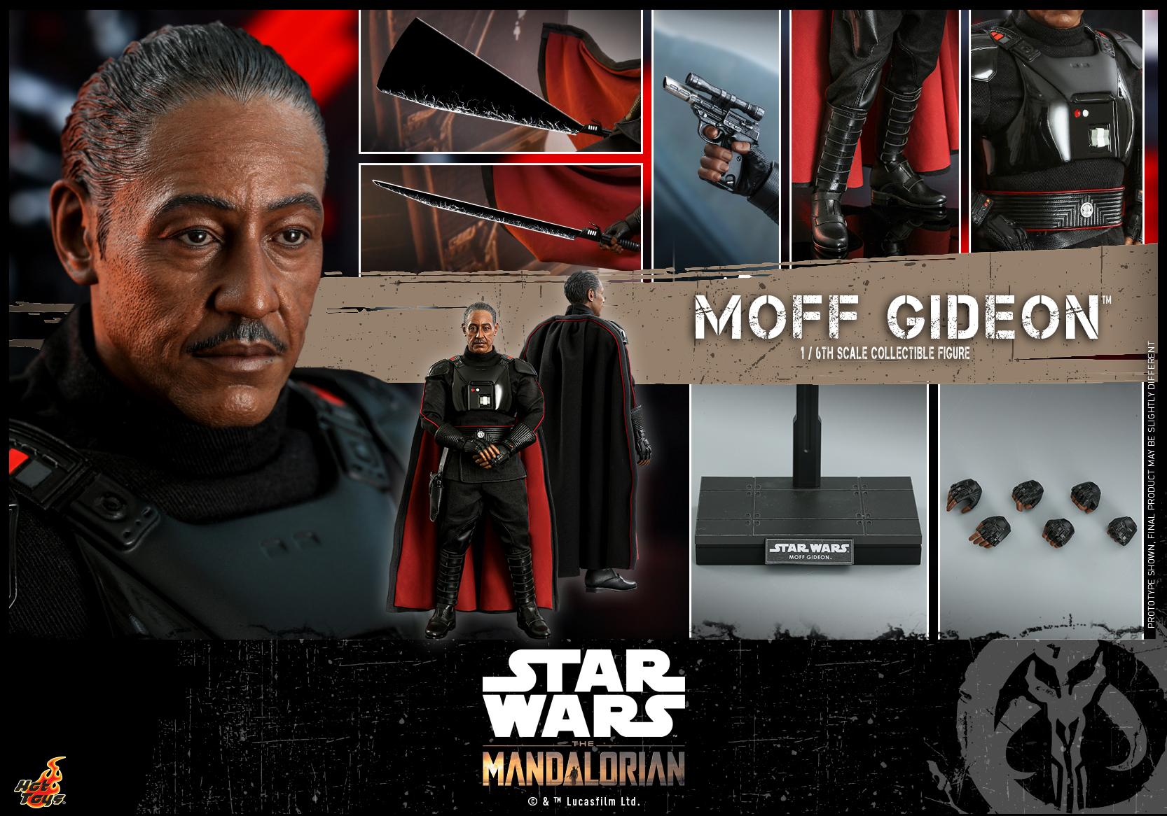 Hot Toys - Mando II - Moff Gideon Collectible Figure_PR19