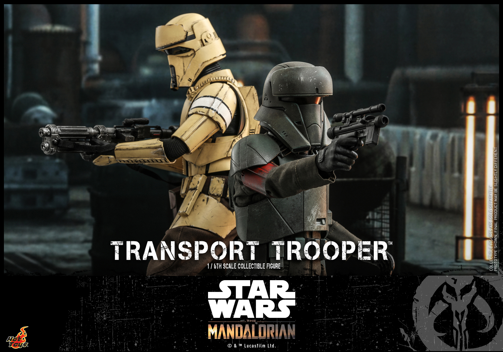 Hot Toys - Mando - Transport Trooper collectible figure_PR13