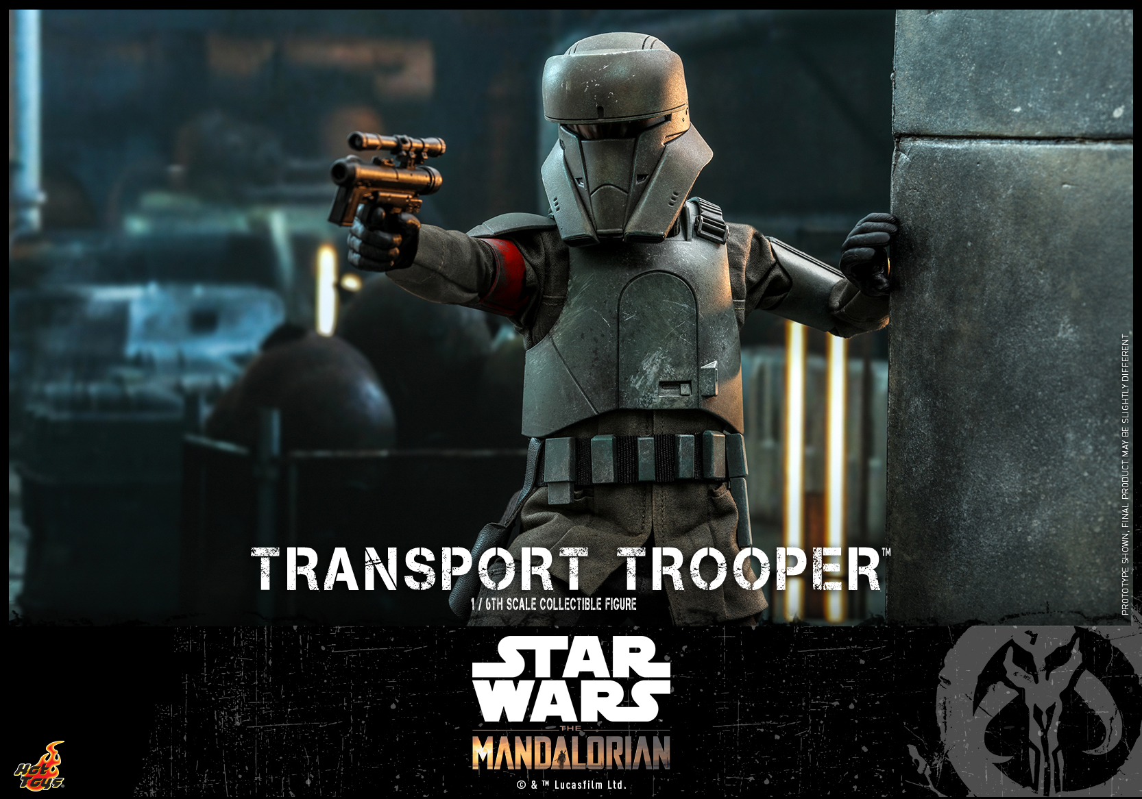 Hot Toys - Mando - Transport Trooper collectible figure_PR14