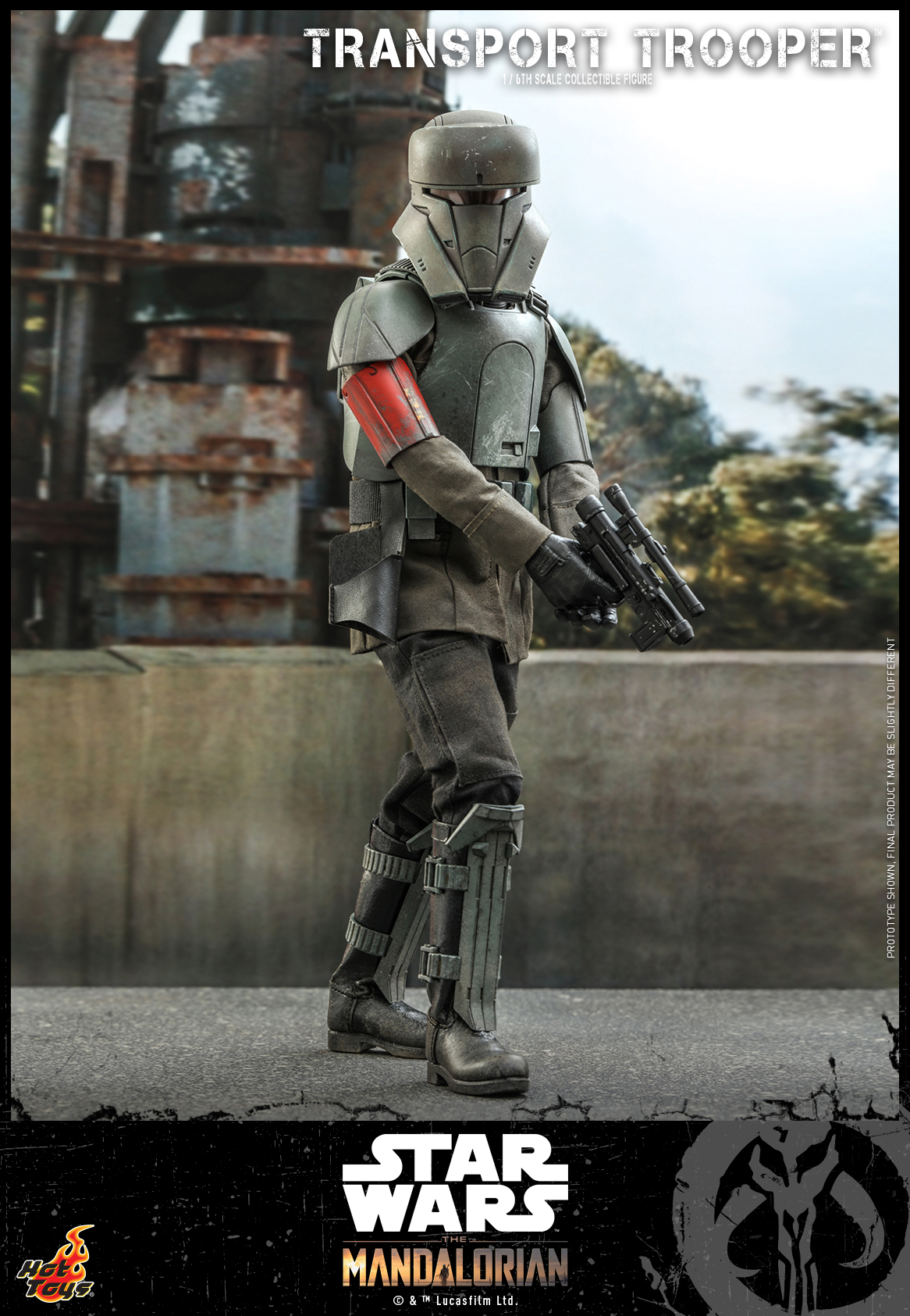 Hot Toys - Mando - Transport Trooper collectible figure_PR2