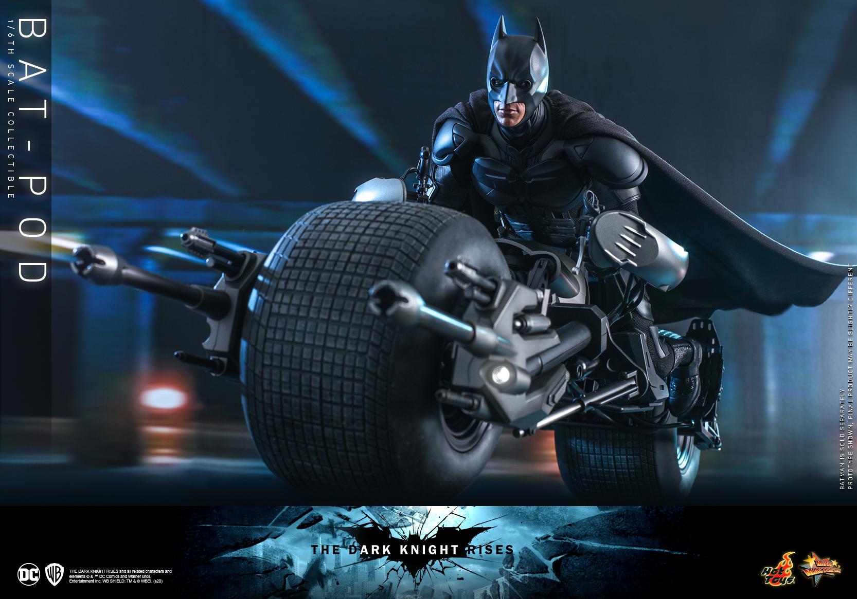 Hot Toys - TDKR - Bat-pod collectible_PR4