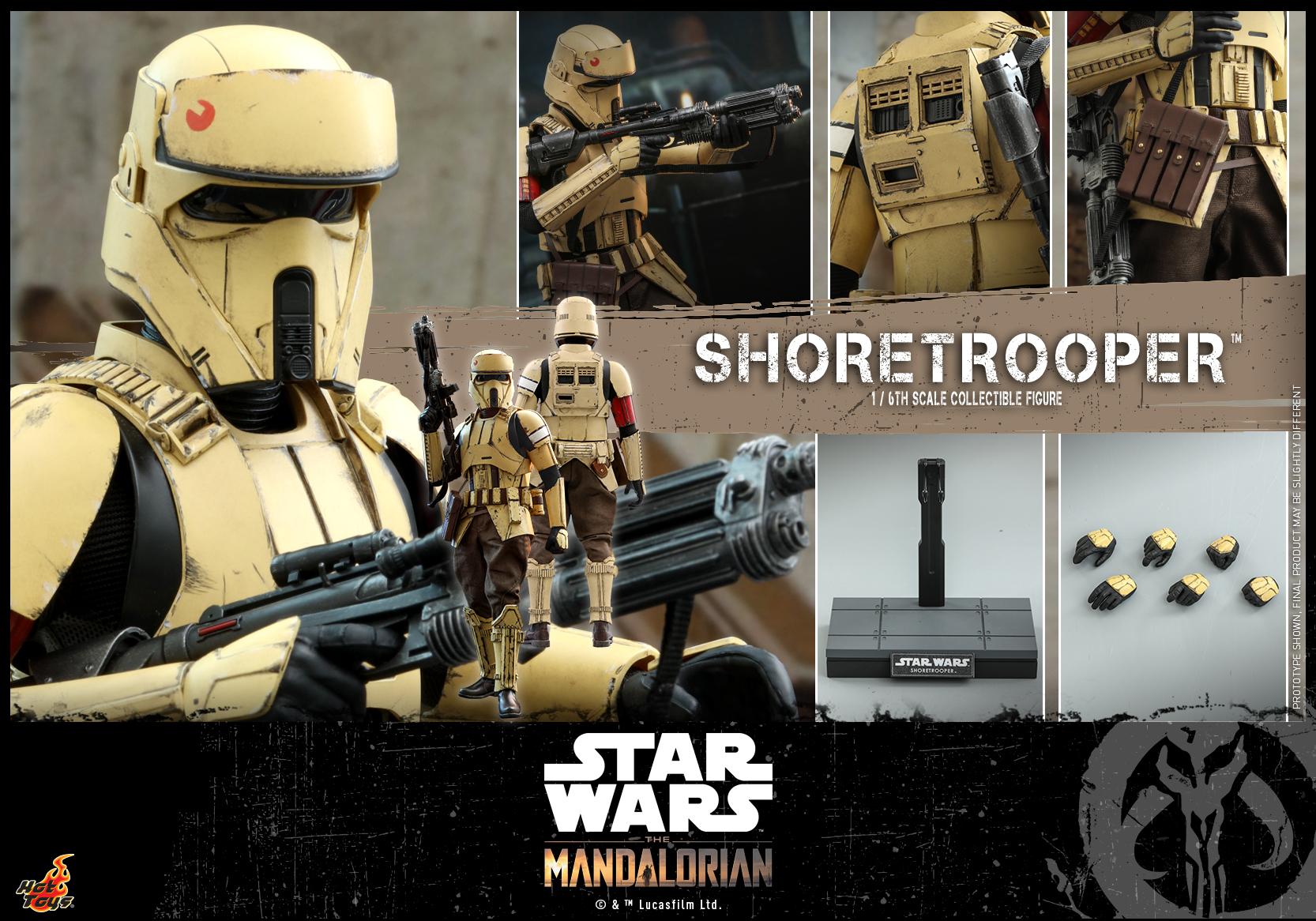 Hot Toys - Mandalorian - Shoretrooper collectible figure_PR16