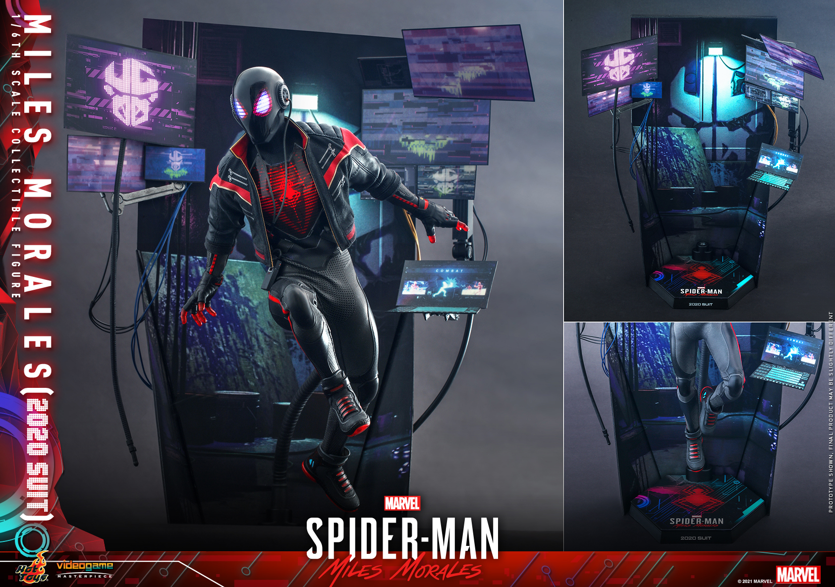 Hot Toys - SMMM - Miles Morales (2020 Suit) collectible_PR20