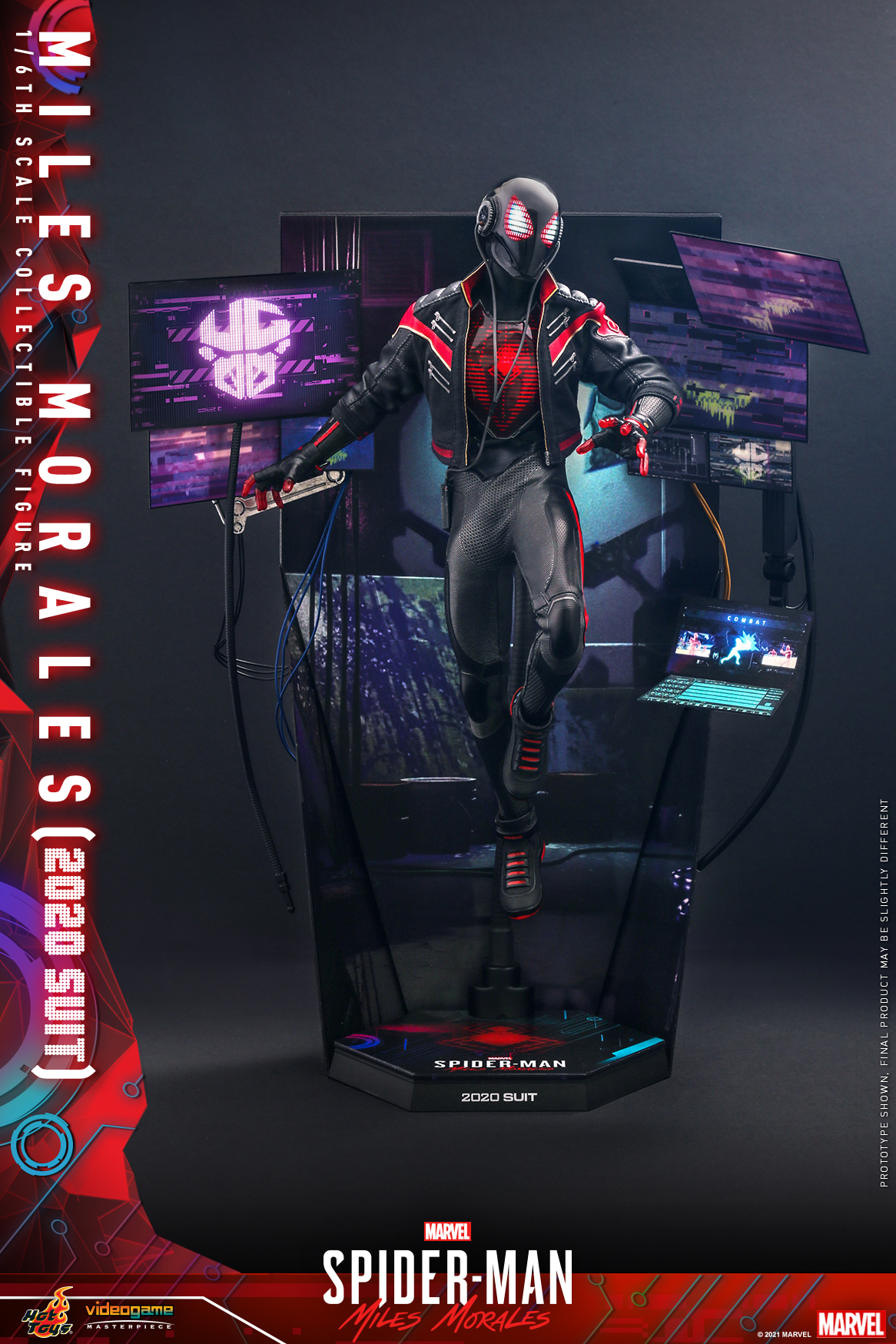 Hot Toys - SMMM - Miles Morales (2020 Suit) collectible_PR3