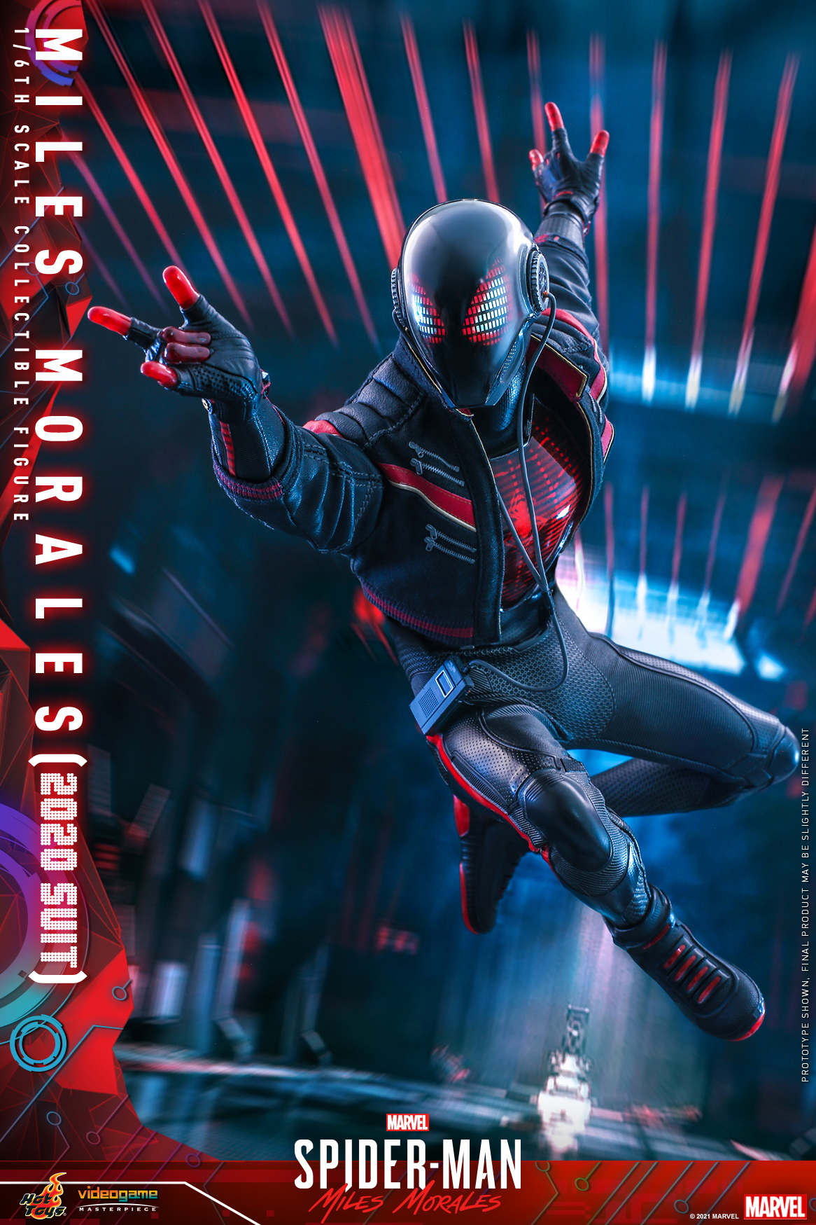 Hot Toys - SMMM - Miles Morales (2020 Suit) collectible_PR5