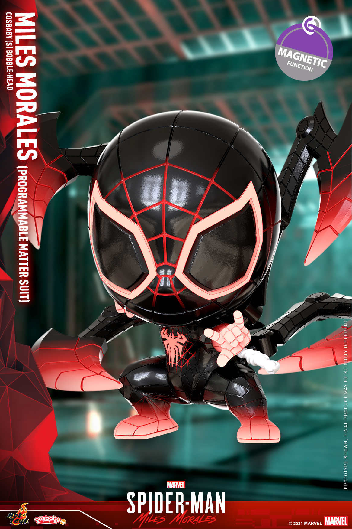 Hot Toys - SMMM - Miles Morales (Programmable Matter Suit) Cosbaby_PR1