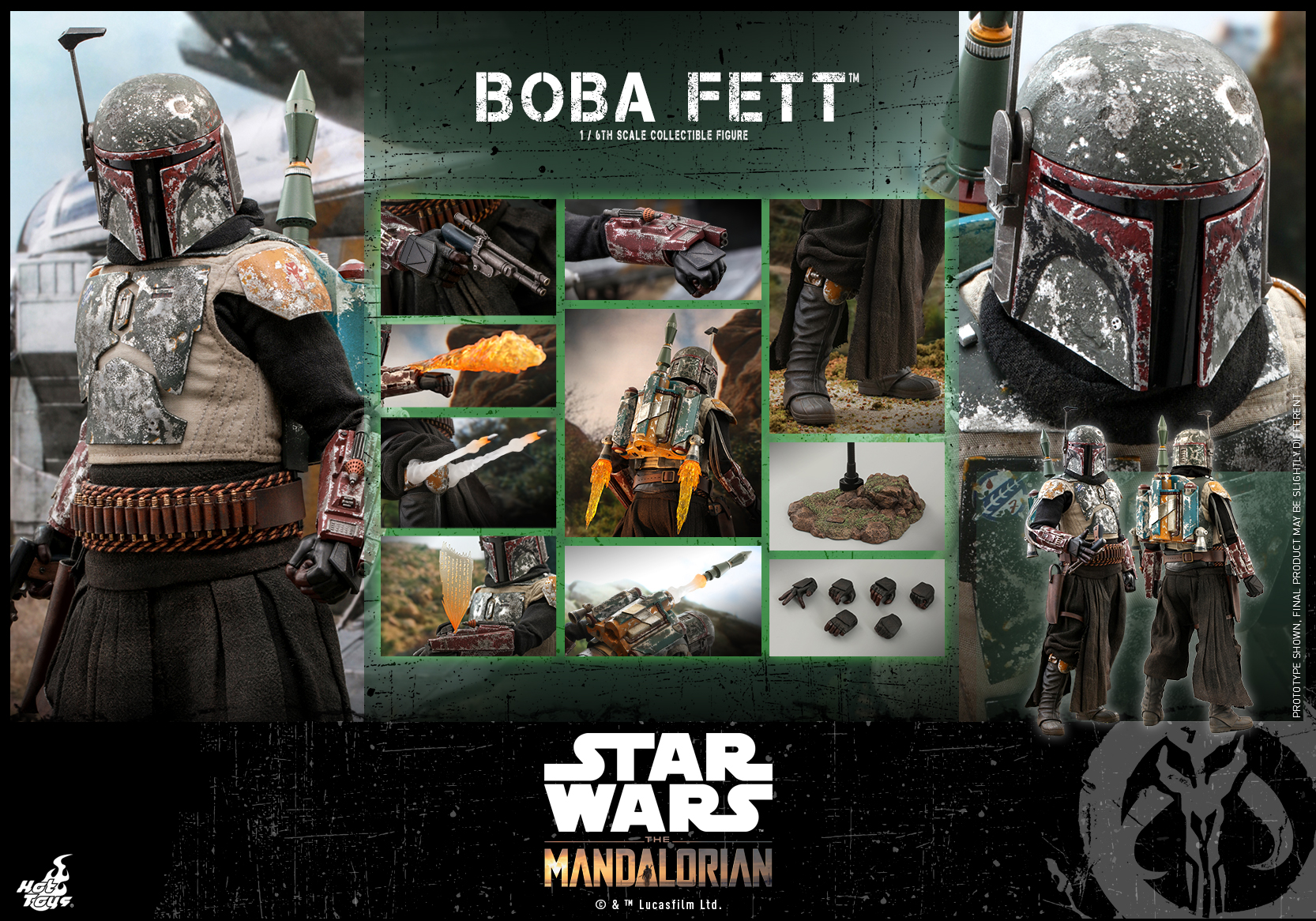 Hot Toys - SWTM - Boba Fett collectible figure_PR17