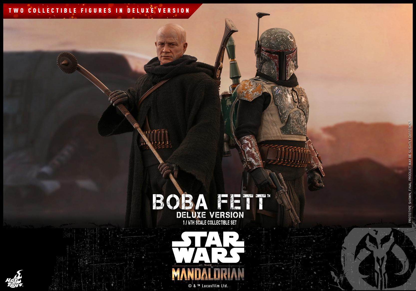 Hot Toys - SWTM - Boba Fett collectible set (Deluxe)_PR11