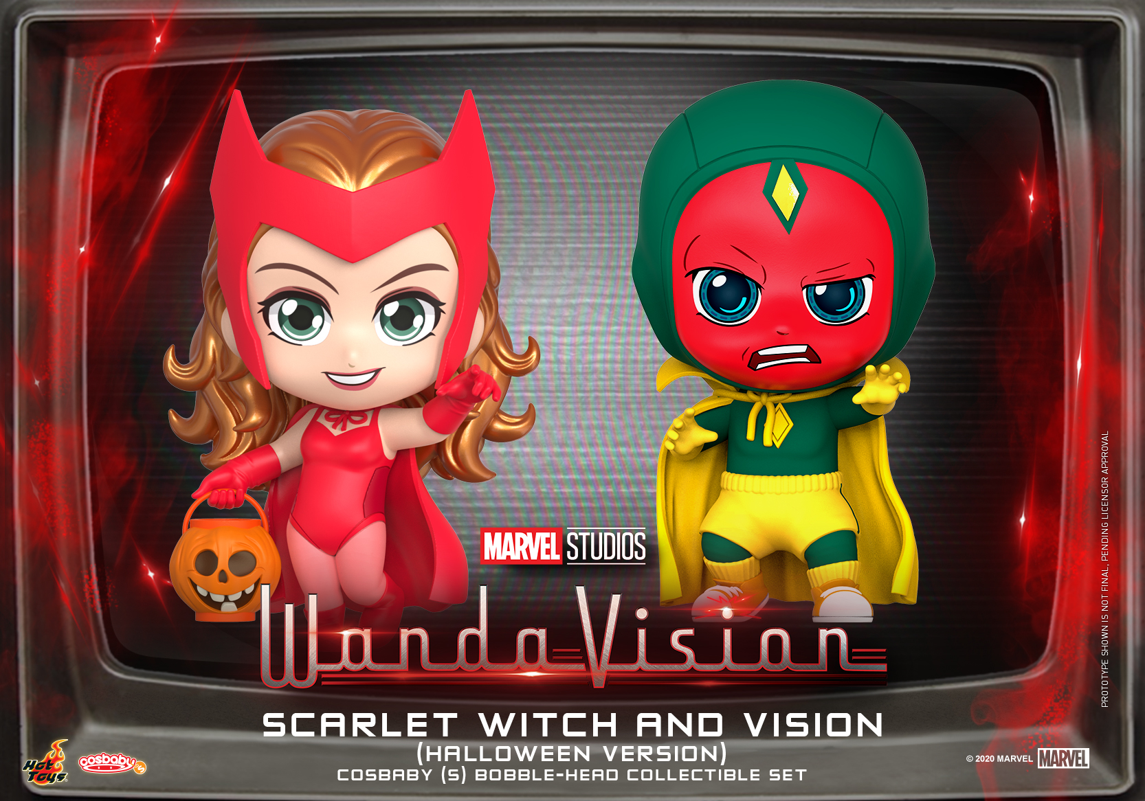 Hot Toys - WandaVision - Scarlet Witch and Vision Cosbaby(S) Set_PR1