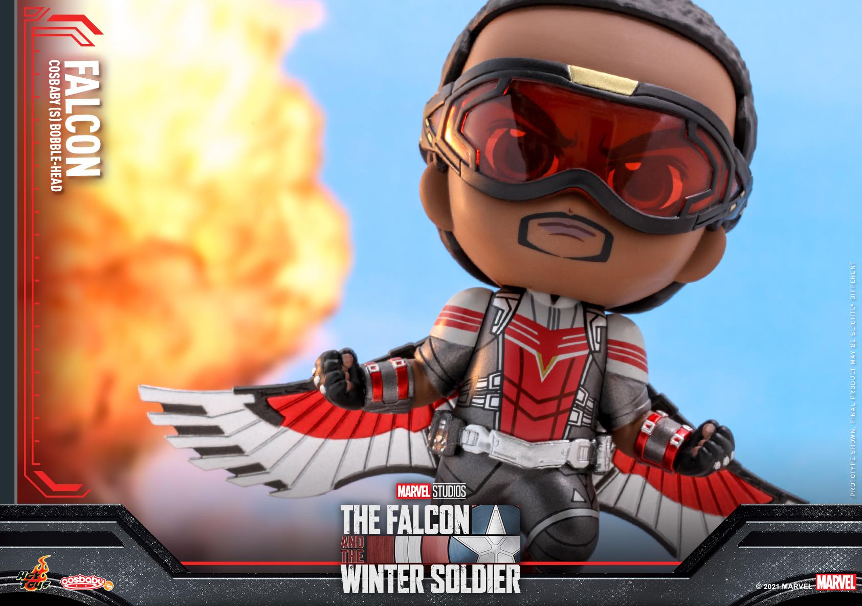 Hot Toys - Falcon and Winter Soldier - Falcon Cosbaby_PR3