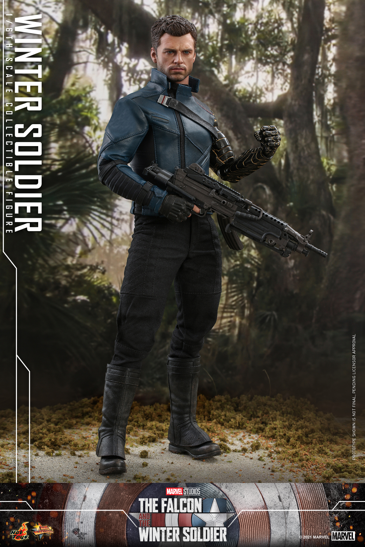Hot Toys - Falcon and Winter Soldier - Winter Soldier collectible figure_PR1