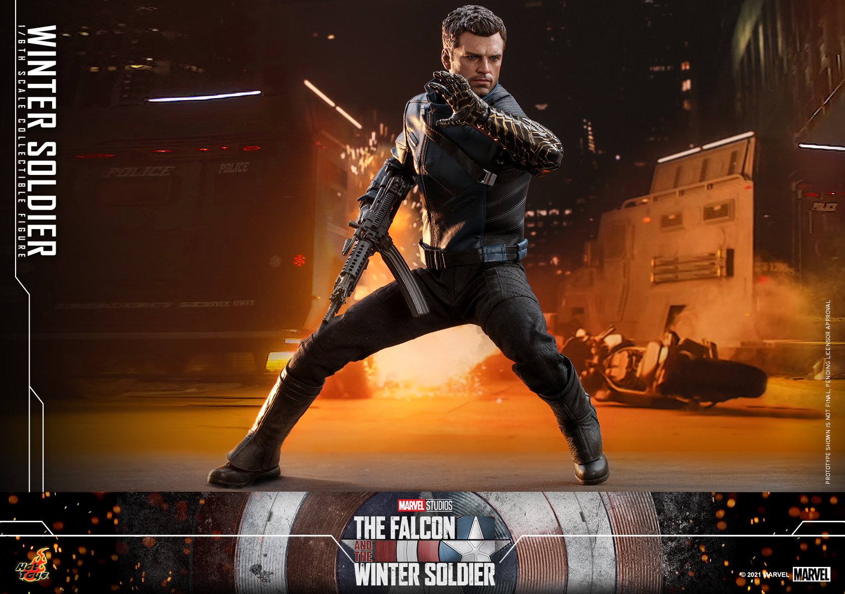 Hot Toys - Falcon and Winter Soldier - Winter Soldier collectible figure_PR10