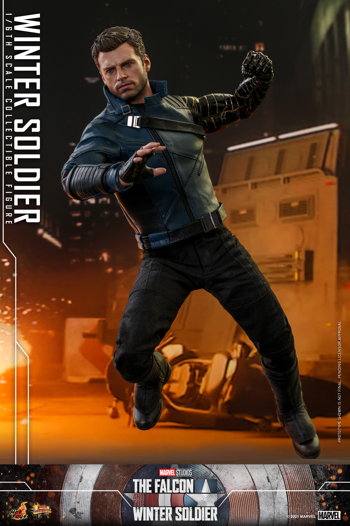 Hot Toys - Falcon and Winter Soldier - Winter Soldier collectible figure_PR7