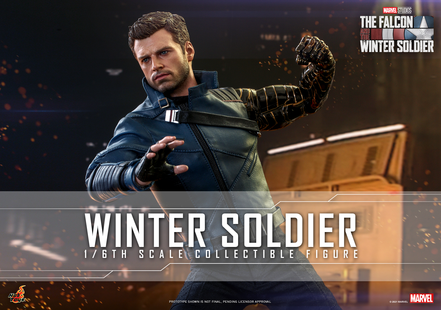 Hot Toys - Falcon and Winter Soldier - Winter Soldier collectible figure_Poster