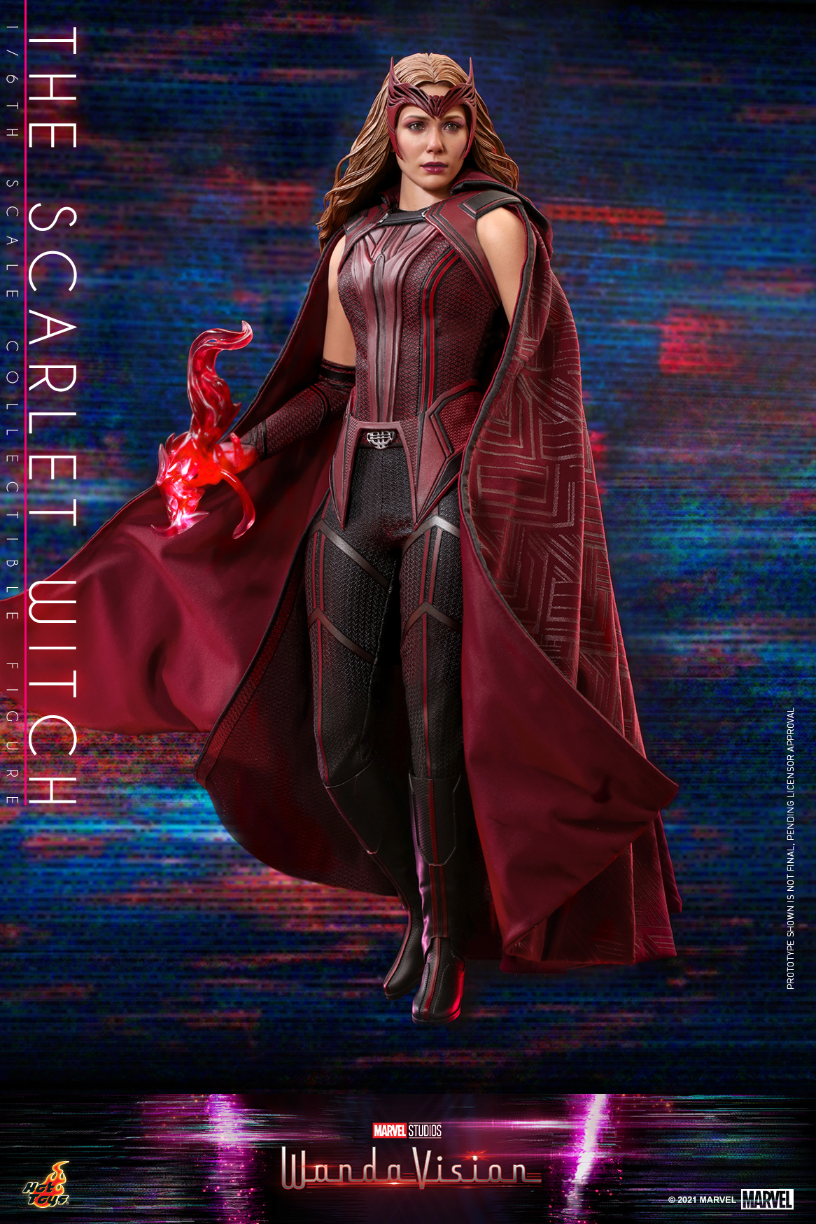 Hot Toys - WandaVision - The Scarlet Witch collectible figure_PR1