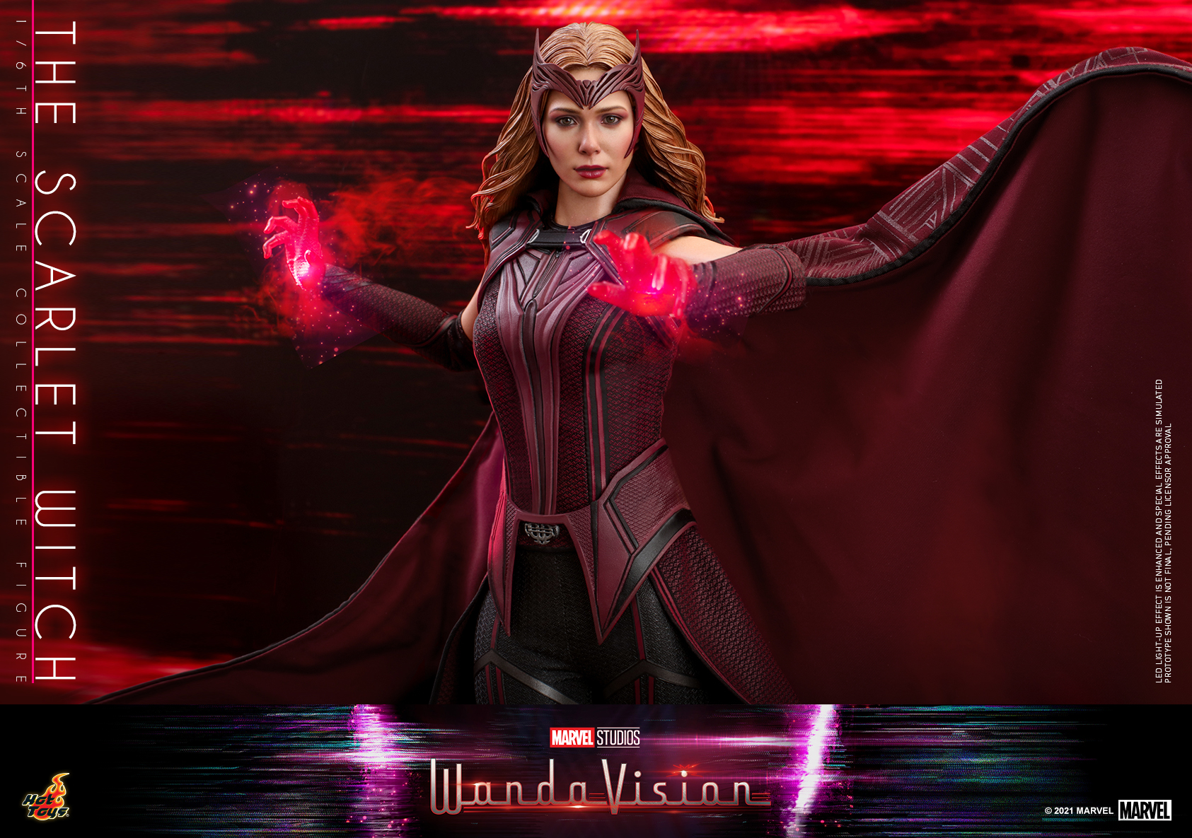 Hot Toys - WandaVision - The Scarlet Witch collectible figure_PR17